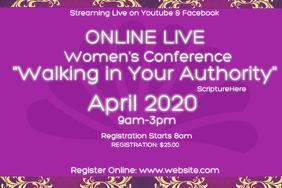 online live Womens Ministry conference workshop