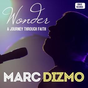 Wonder gospel music album cd cover 专辑封面 template