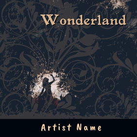 Wonderland Album Art template