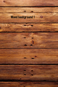 Wood Background 1 Плакат template