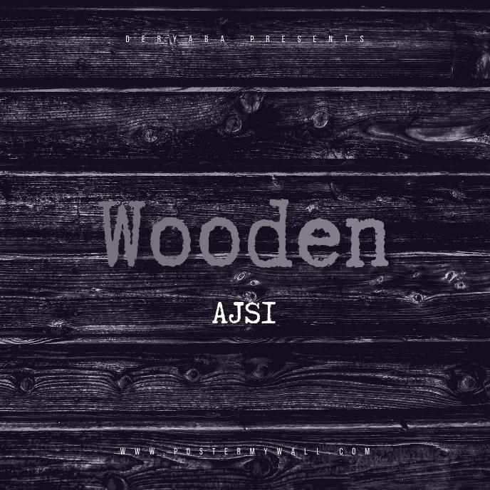Wood CD Cover Template 专辑封面