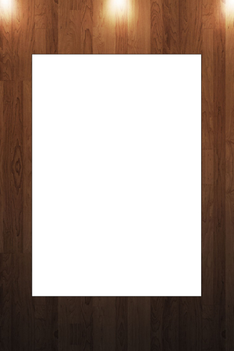 Wood Party Prop Frame