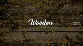 Wood Wooden Youtube Channel Art Banner