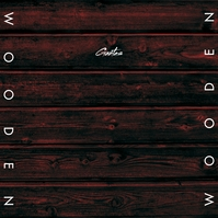 Wooden Wood CD Cover Music Albumcover template