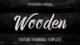 Wooden Youtube Thumbnail Basic Style Template