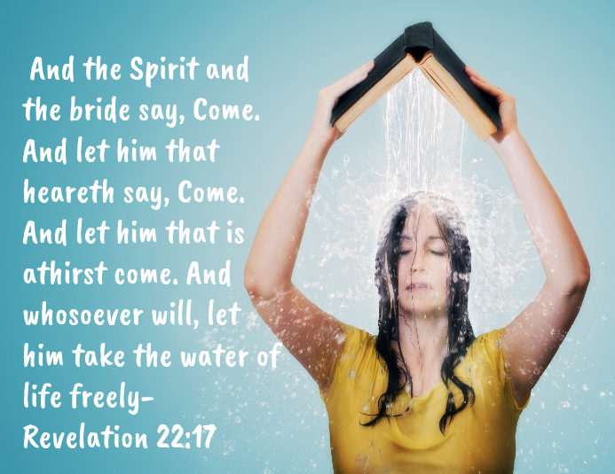 Word of God is living water