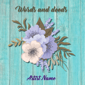 Words and deeds ALBUM ART
