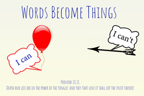 Words Become Things