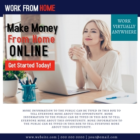 Work Online From Home Template