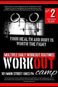 Work Out Flyer