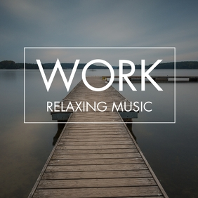 Work relaxing music album cover