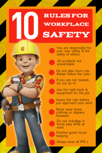 Work Safety Poster