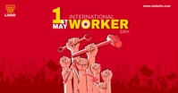 Worker day template for Facebook