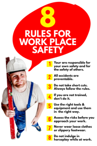 Workplace Safety Poster