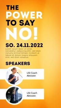 workshop speaker event seminar template ad Instagram Story