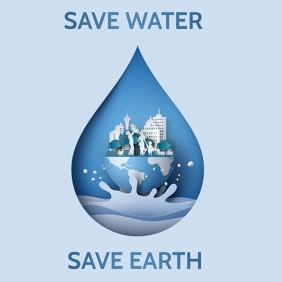 World's water day flyer,Environmental flyer,event flyers