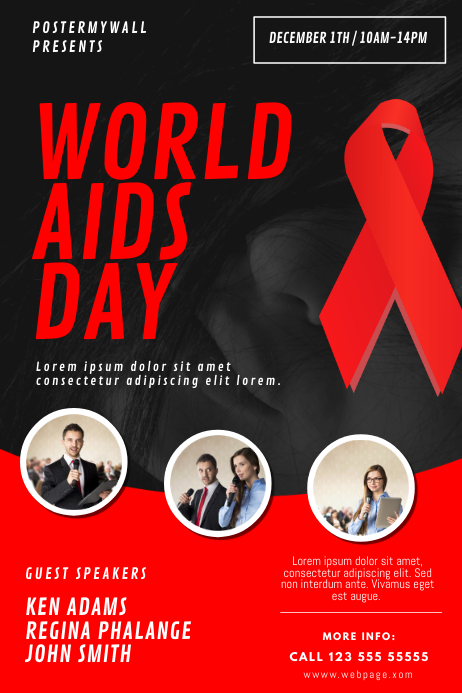 World AIDS Day Flyer Design Template | PosterMyWall