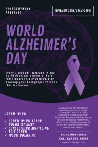 World Alzheimer's and Brain Awareness Day