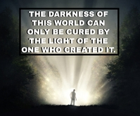 WORLD AND LIGHT QUOTE TEMPLATE Large Rectangle