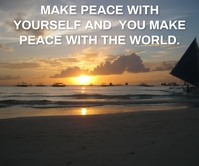 WORLD AND PEACE QUOTE TEMPLATE Large Rectangle