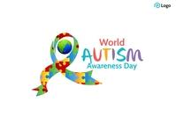 World Autism Awareness Day Postal template