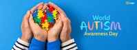 World Autism Awareness Day Facebook Cover Photo template