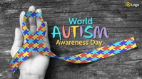 World Autism Awareness Day Post sa Twitter template