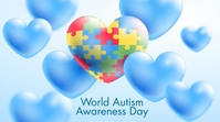 World Autism Awareness Day Twitter 帖子 template