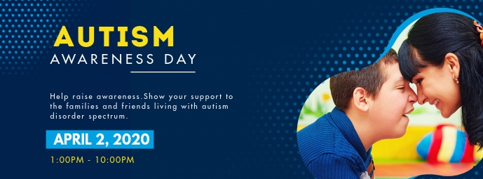 World Autism Awareness Day Facebook Cover Pho