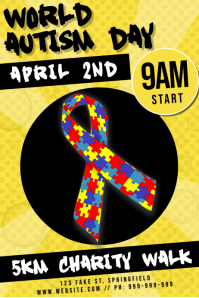 World Autism Day Poster