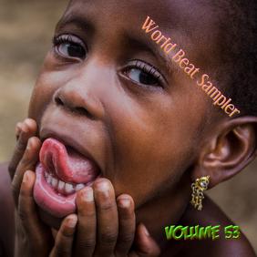 World Beat Sampler Volume 53 Albumcover template