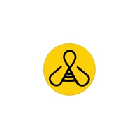 World Bee Day Logo template