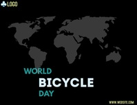 world bicycle day Flyer (US Letter) template