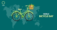 World Bicycle day Facebook Ad template