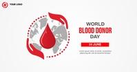 World Blood Donor day Imagen Compartida en Facebook template