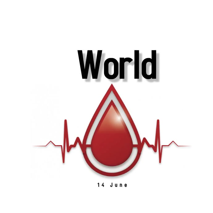 World Blood Donor Day Instagram 帖子 template
