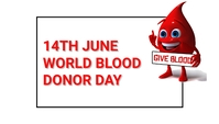 World blood donor day template
