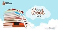 World Book Day 2021 Изображение, которым поделились на Facebook template
