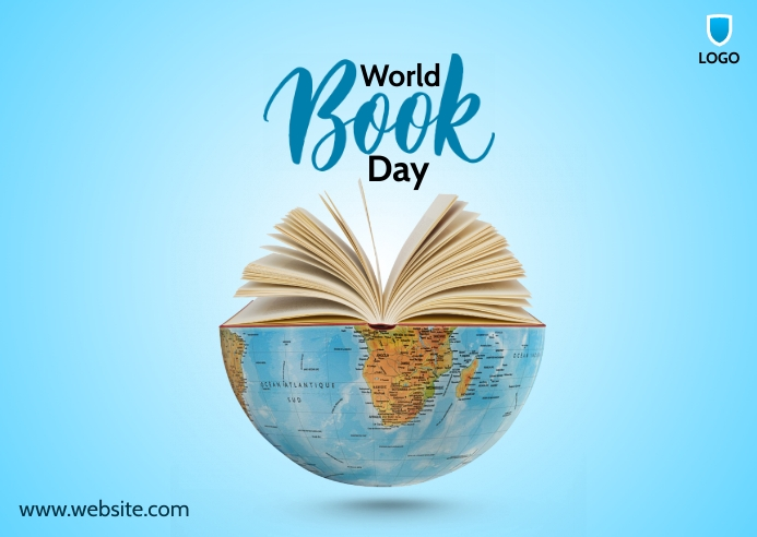 World Book Day Postal template
