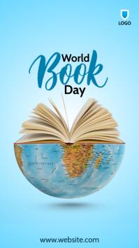 World Book Day Instagram-verhaal template