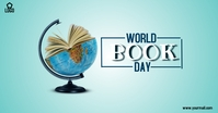 world book day template Imagem partilhada do Facebook