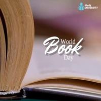 World Book Day Video Template Publicação no Instagram