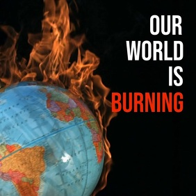 World burning Environment Day