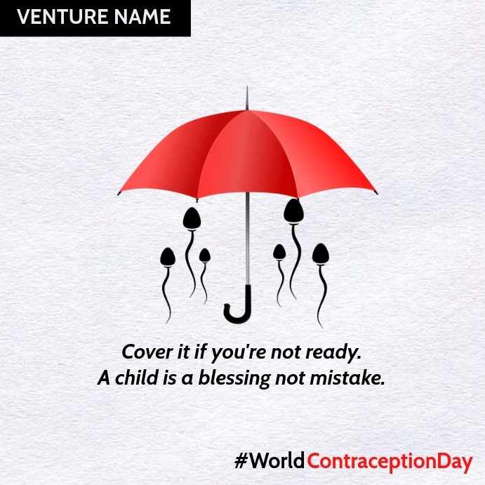 World Contraception Day 2020 Template | PosterMyWall