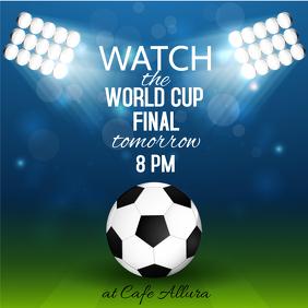 World Cup final invite