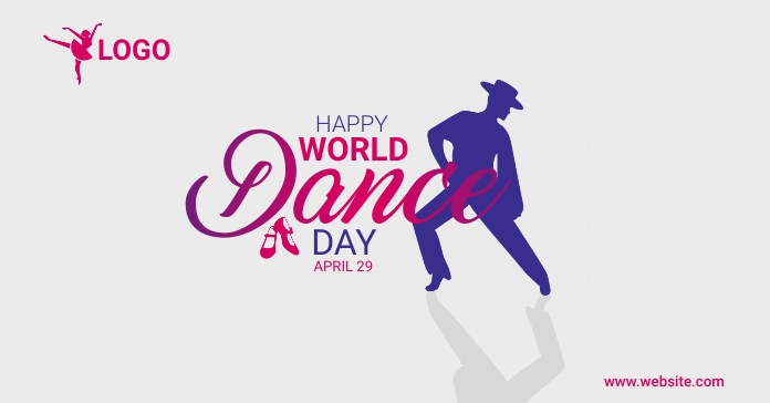 World Dance day Ad template