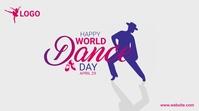 World Dance day Publicação do Twitter template