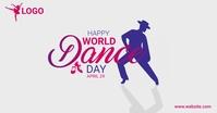 World Dance day auf Facebook geteiltes Bild template