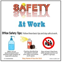 World Day for Safety and Health at Work Instagram Post template