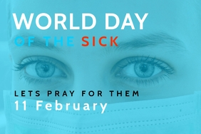 World day of the sick template